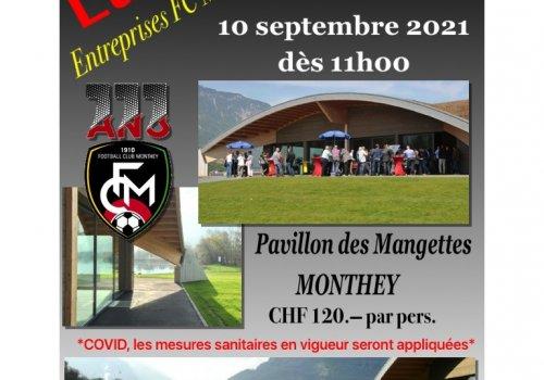 LUNCH Entreprises du FC Monthey